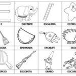 Ejercicios para aprender a leer: Primeras palabras E-I