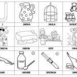 Ejercicios para aprender a leer: Primeras palabras J-M
