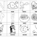 Ejercicios para aprender a leer: Primeras palabras N-Q