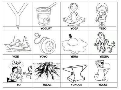 Aprender a leer - primeras palabras - Y