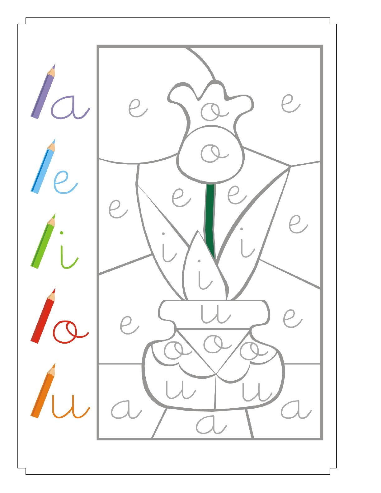 Aprender a leer coloreando 1