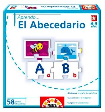 Aprender el abecedario - Puzzles