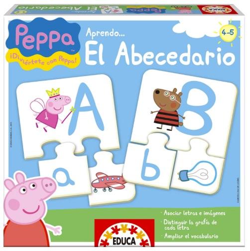Aprender el alfabeto - Puzzles
